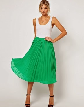 pleats a plenty from asos