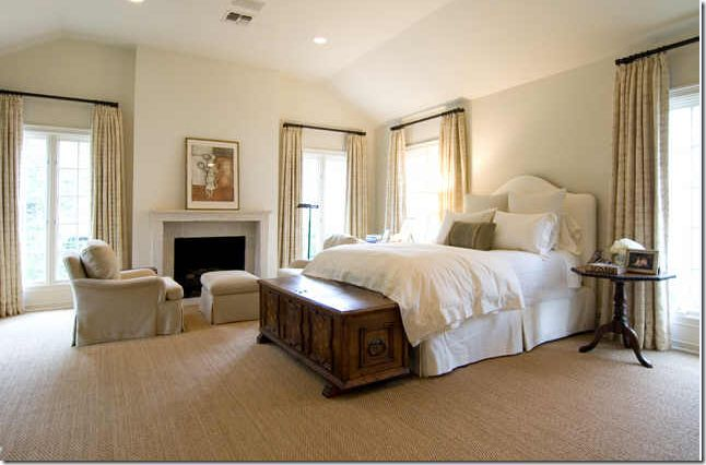 Seagrass simplicity for Sisal carpet bedroom
