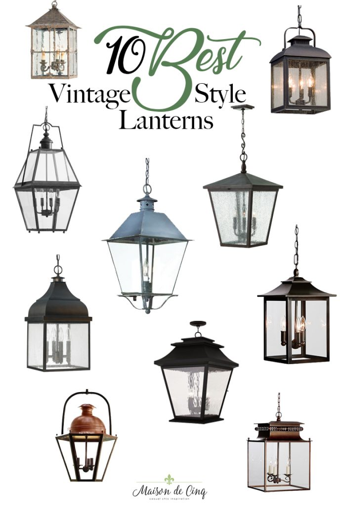 10 best vintage style lanterns pendant lights farmhouse style