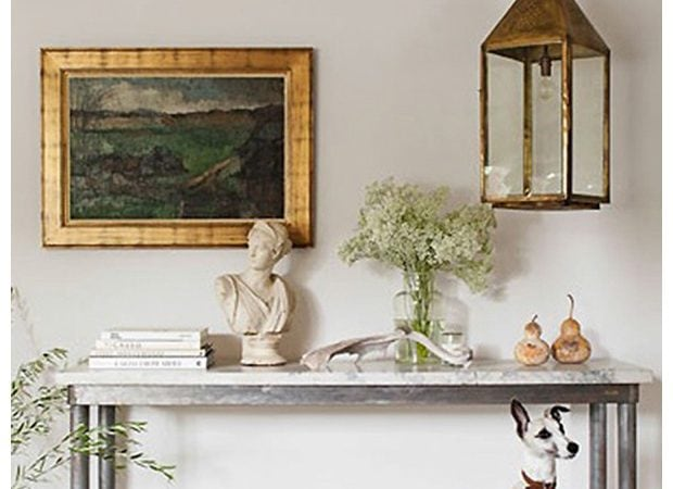 French Country Fridays – Home Offices, Lighting, a Mantel, and More!