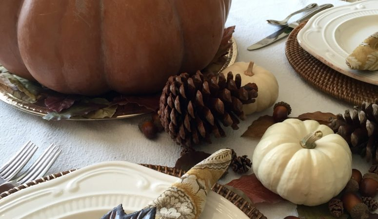 Feeling Fall Tablescape