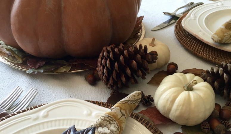 Feeling Fall Tablescape