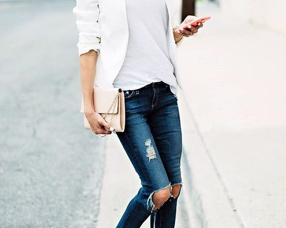 Friday Favorites – White with Denim