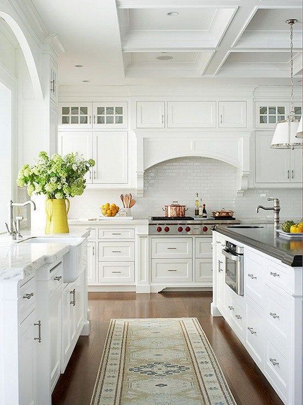 white kitchens stunning ceiling wood counters farmhouse sink glass cabinets