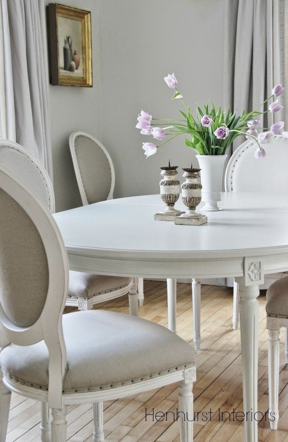 grey and gold dining room simple french country swedish style