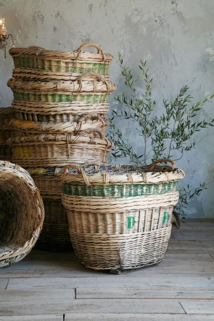 antique baskets collection of fabulous vintage french finds