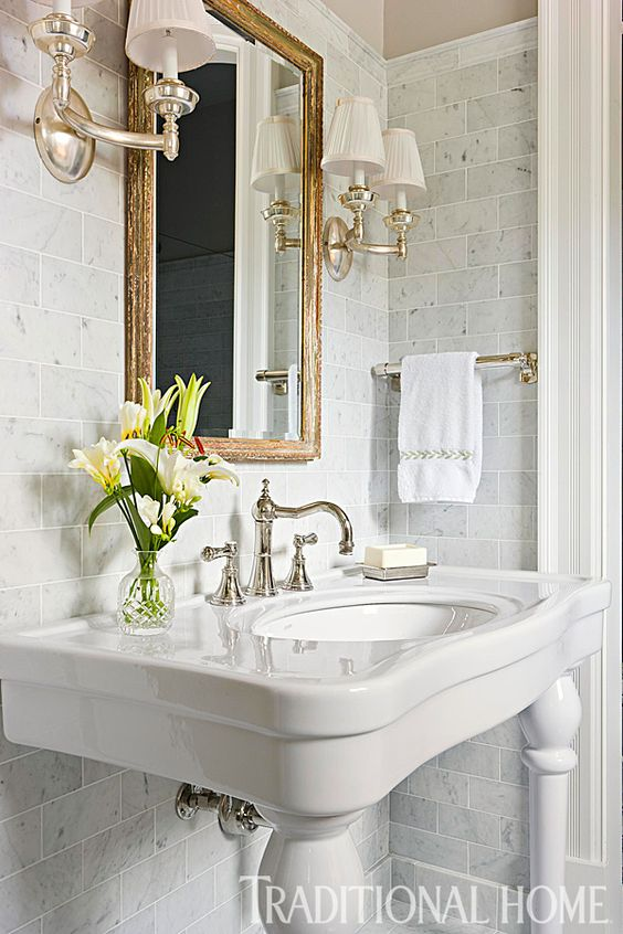 Antique Mirrors In A Bathroom Adding Charm Character