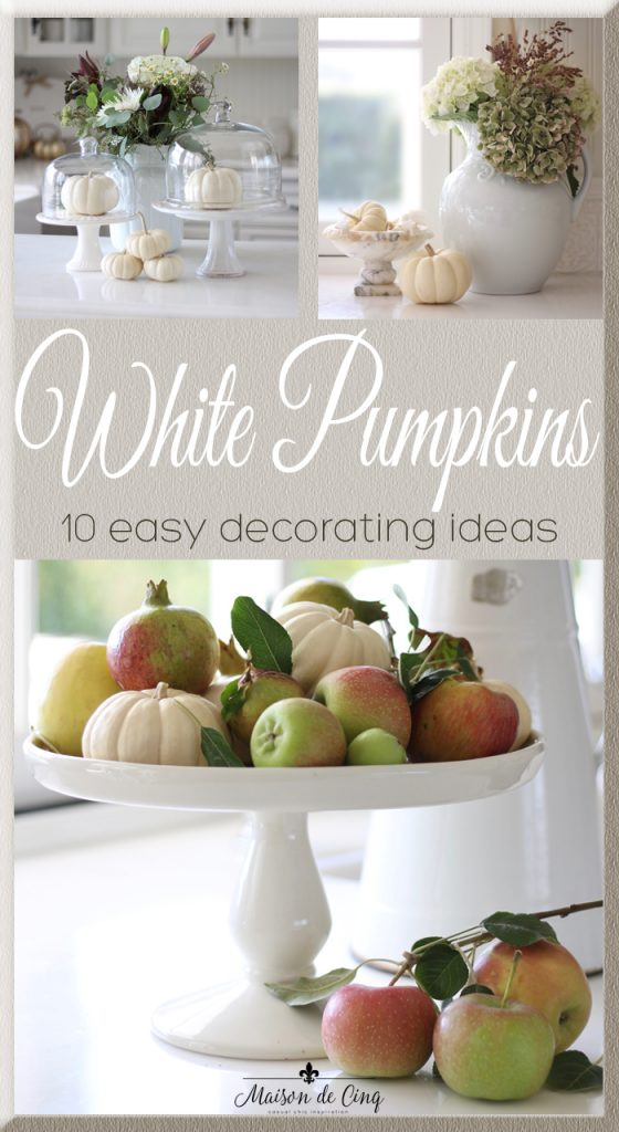 white pumpkins 10 easy decorating ideas gorgeous fall decor