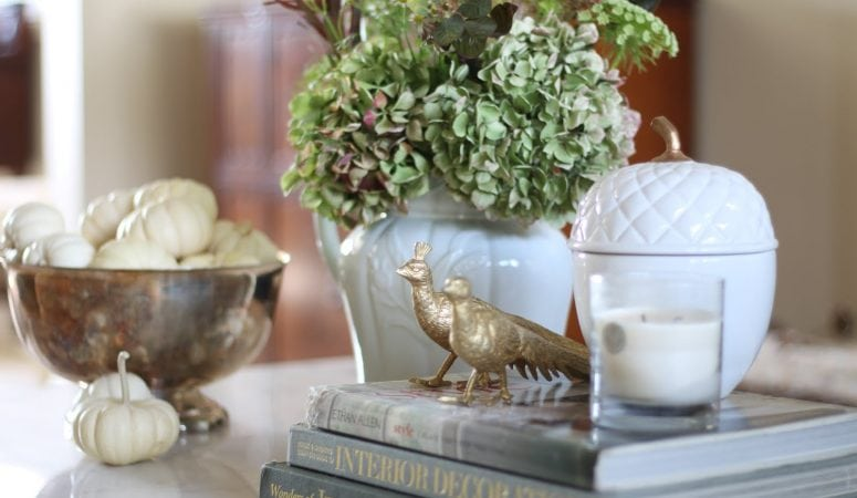 Styling a Coffee Table: Fall Inspiration