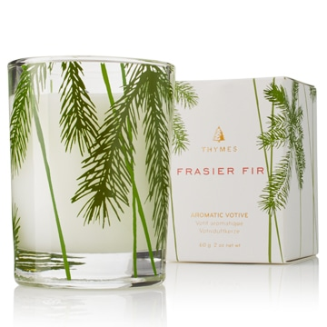 best holiday scented candles thymes frasier fir