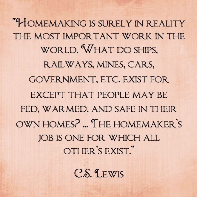 homemaking-career-quote