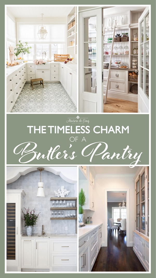 Timeless Charm of a Butler's pantry graphic