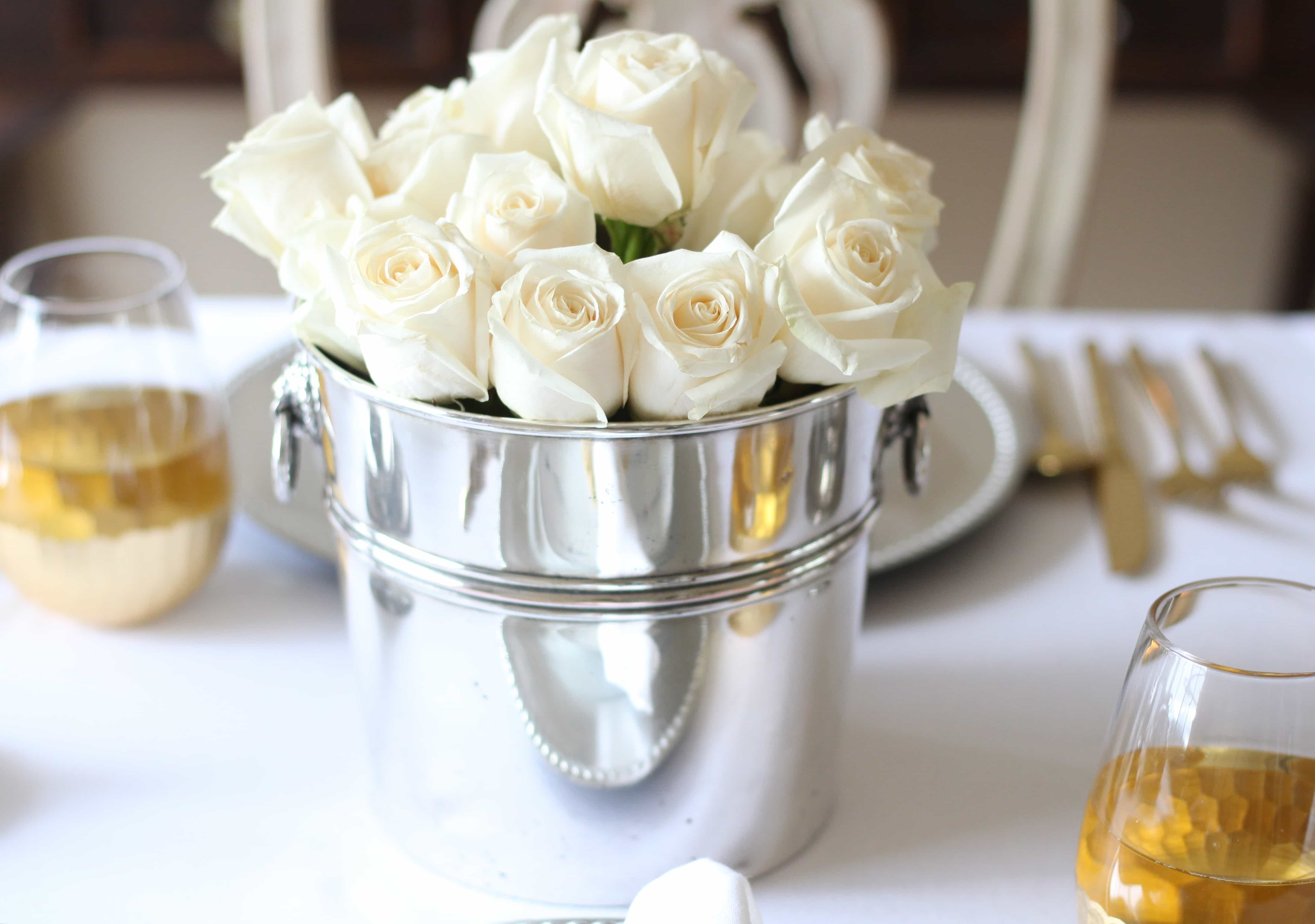vintage-champagne-bucket-roses