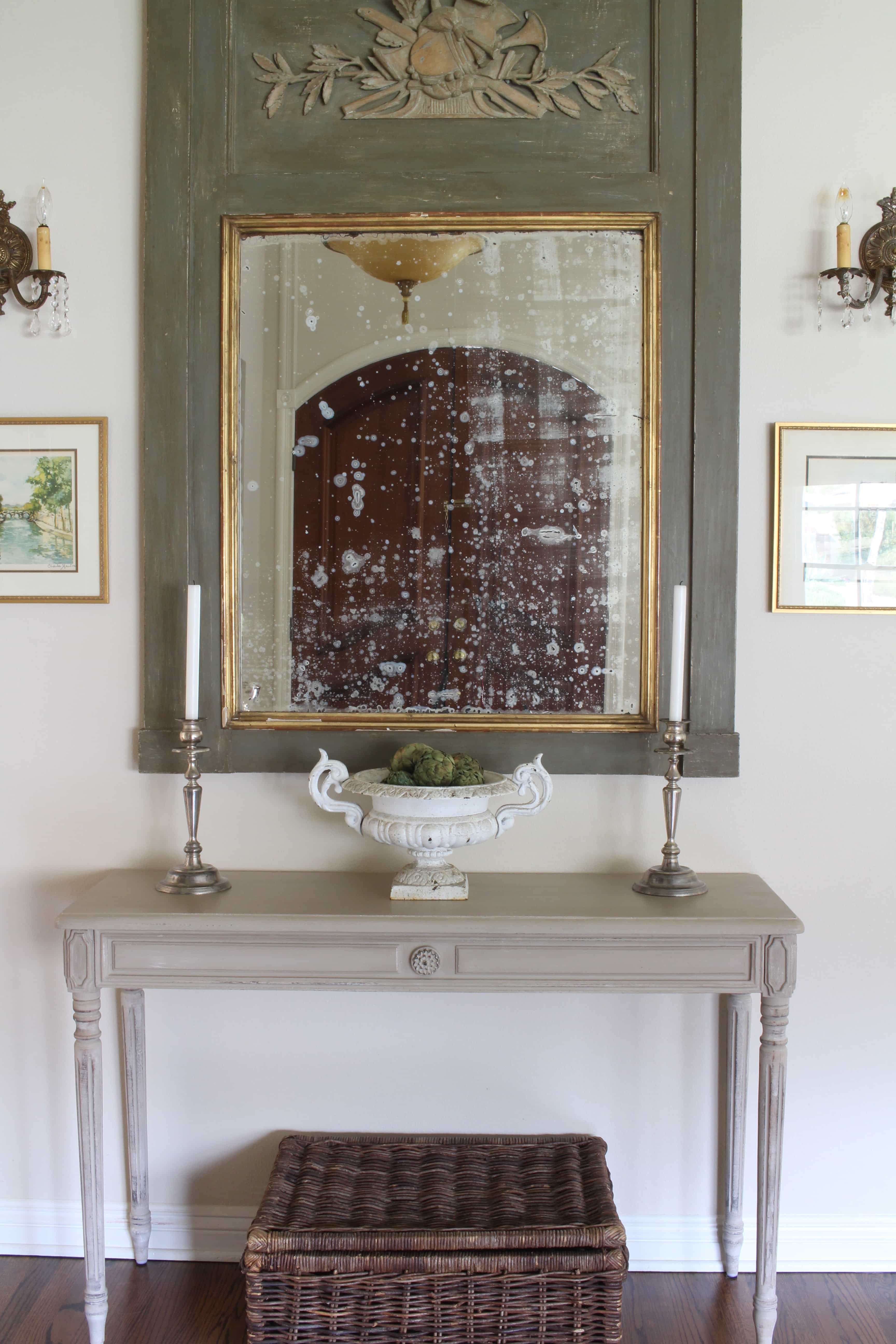 entry-way-gorgeous-antique-mirror