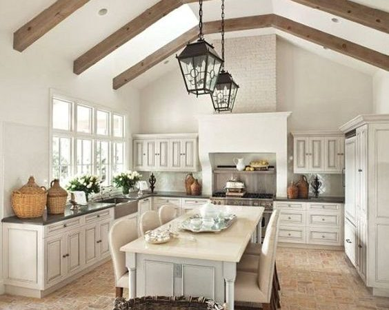 Friday Favorites – The Charm of French Farmhouse Kitchens