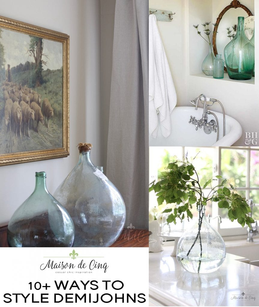 antique demijohns and where to find them on maison de cinq