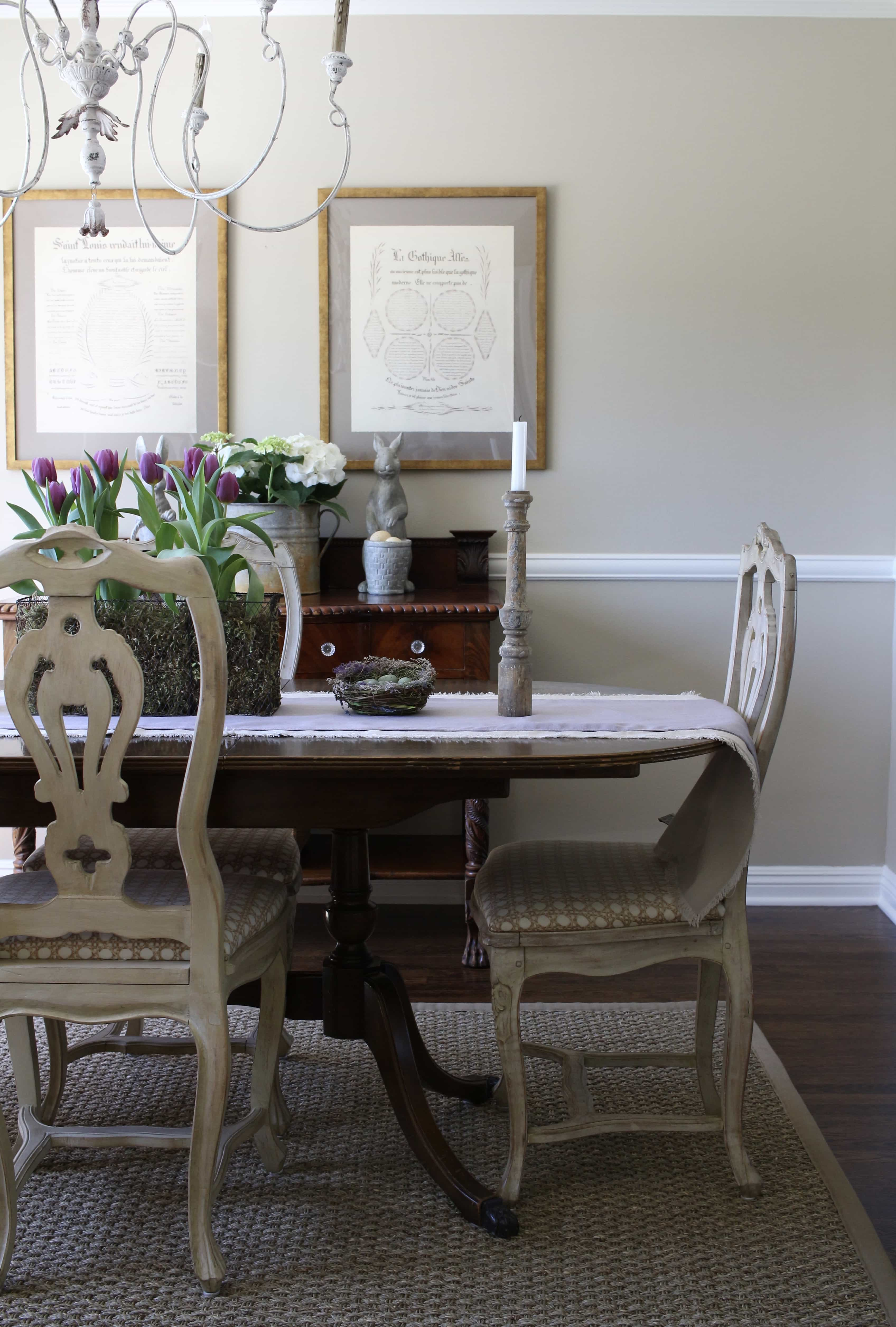dining-room-easter-decor