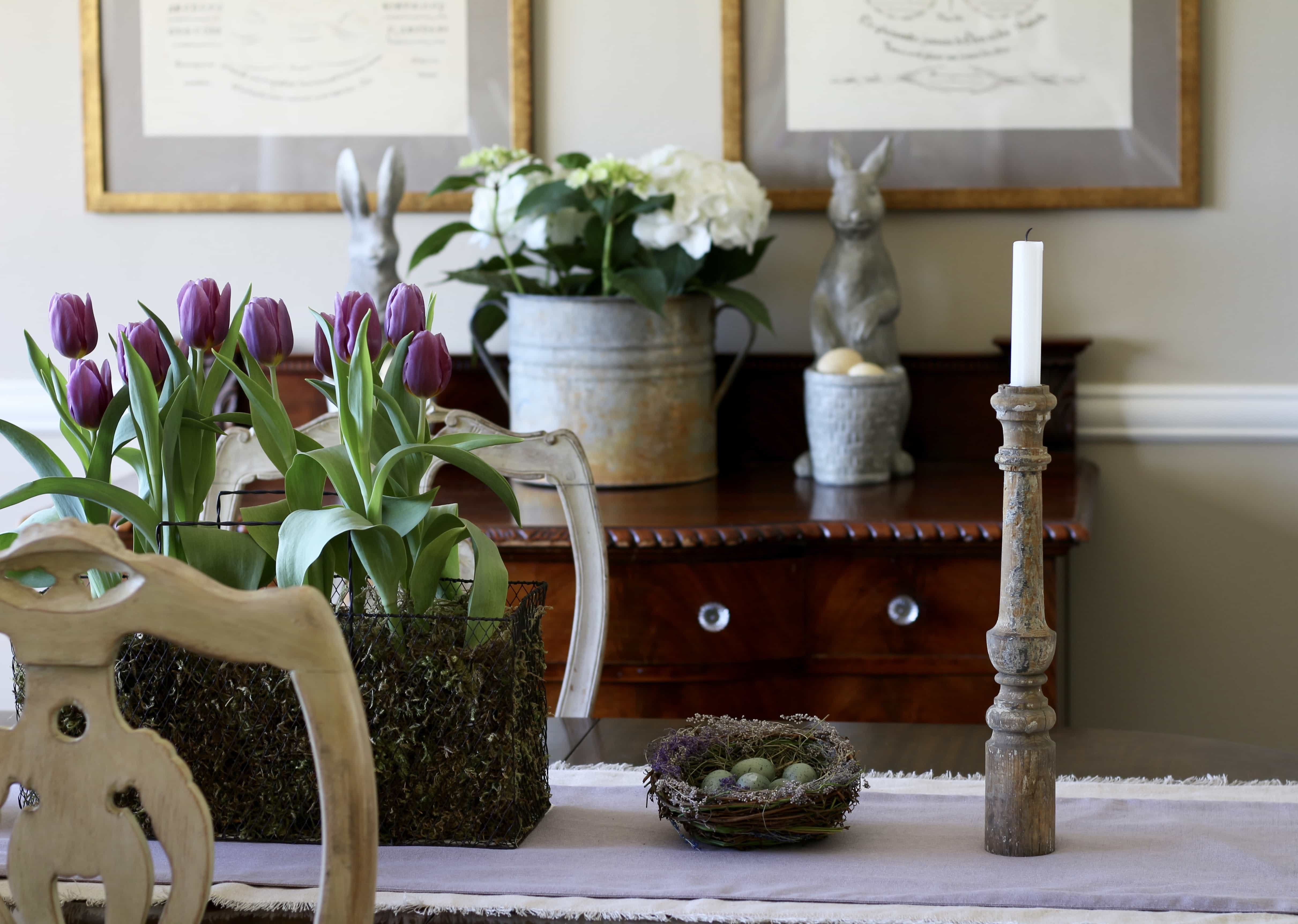 dining-room-tulips-easter-decor