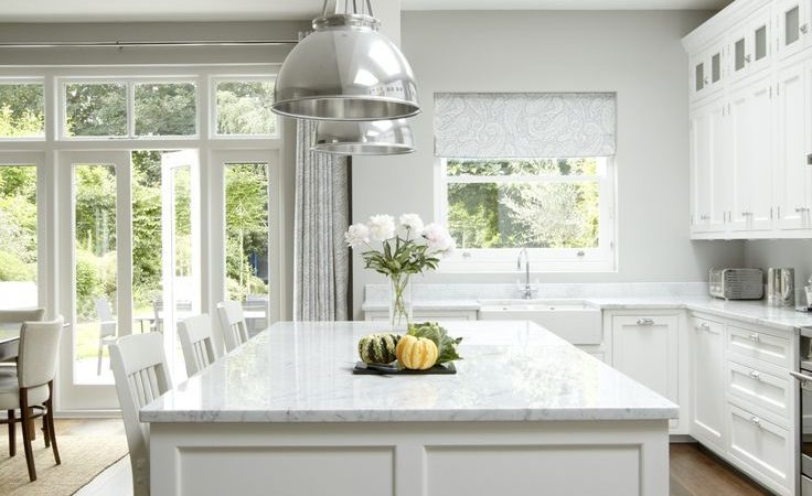 Friday Favorites – Grey & White Kitchens