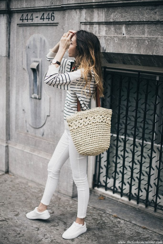 straw-bag-striped-shirt-street-style