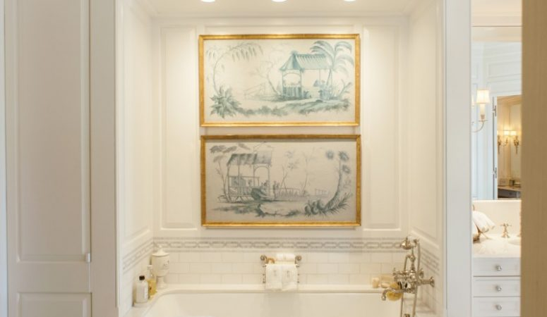 Friday Favorites – Art in the Bathroom