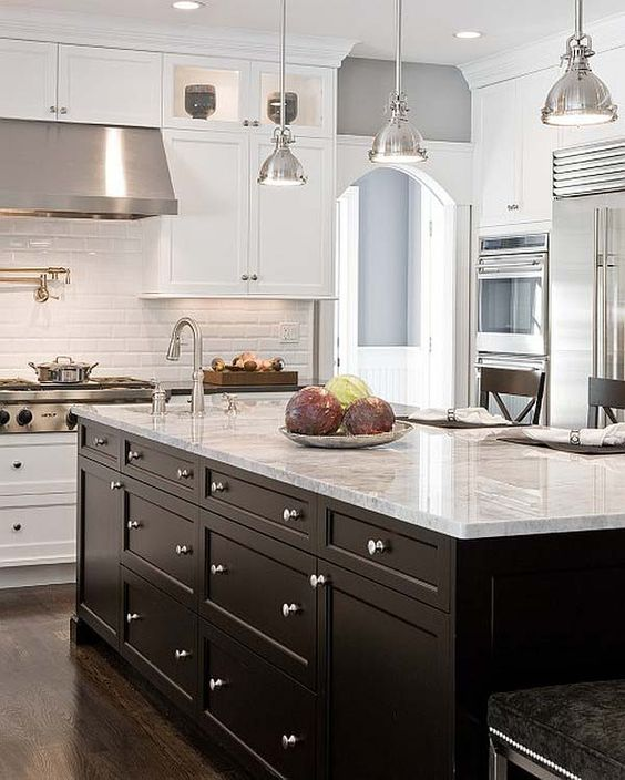 black and white kitchen pendant lights grey paint