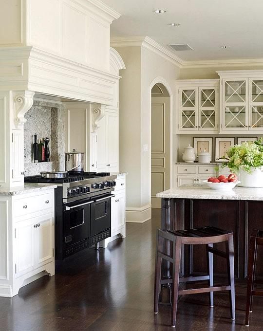 black and white kitchen suzanne kasler