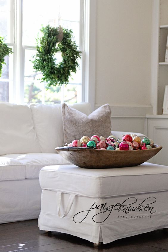 dough bowls christmas ornaments decor