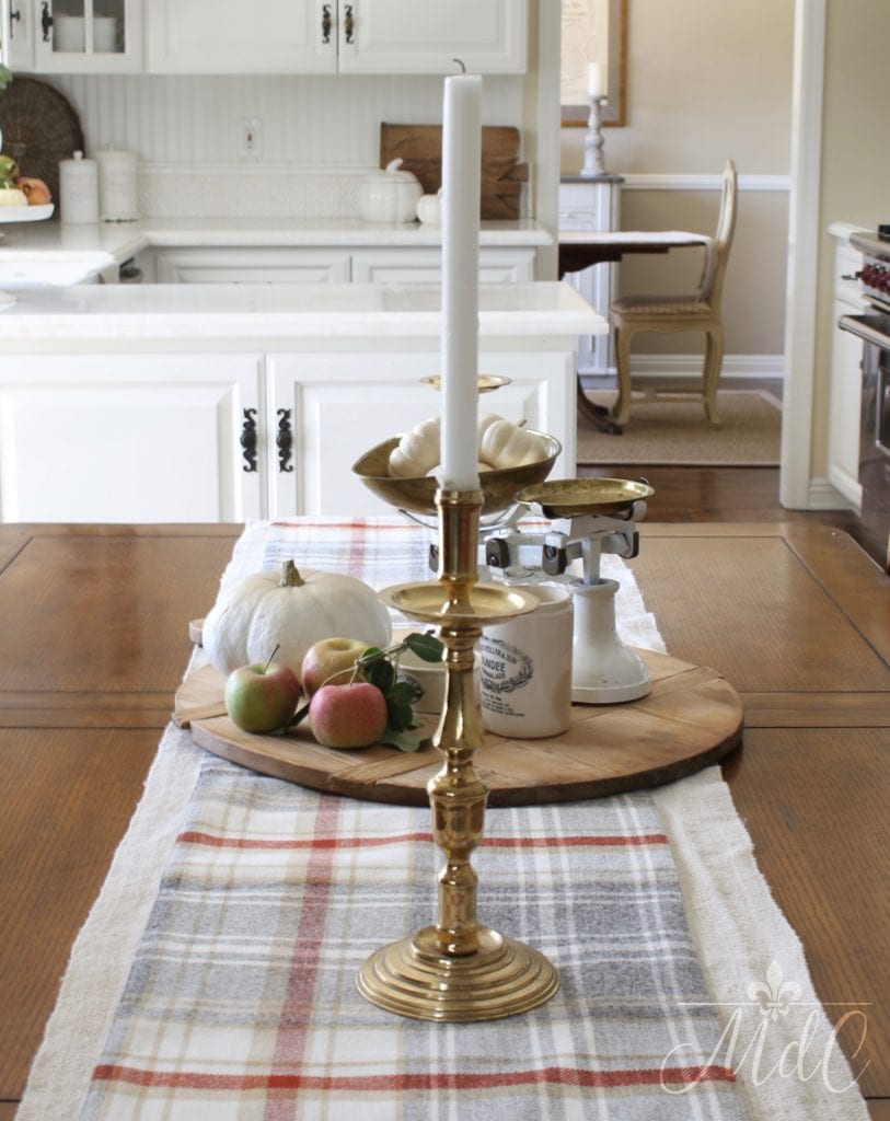 warm and cozy fall home tour kitchen table decor fall inspiration