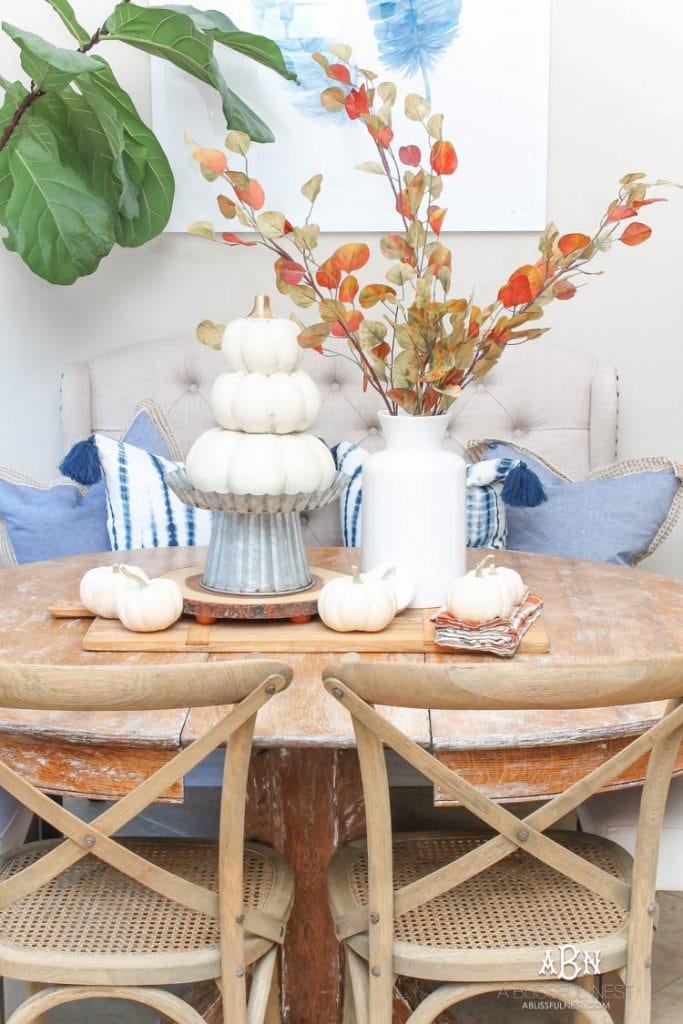 autumn's in the air fall home tours a blissful nest
