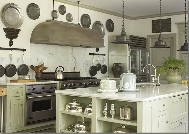 decorating with pewter plates wall hanging farmhouse kitchen