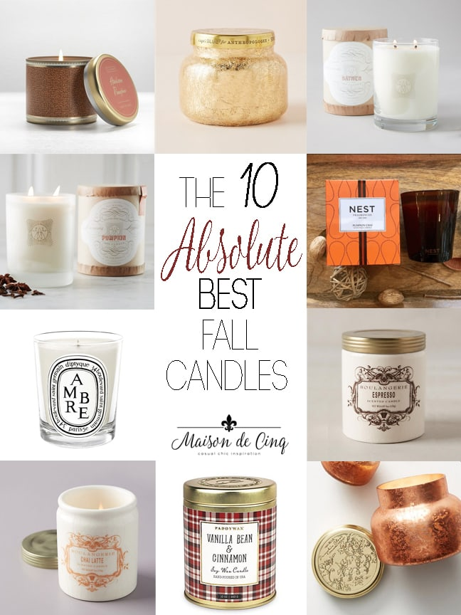 favorite best fall candles autumn scents