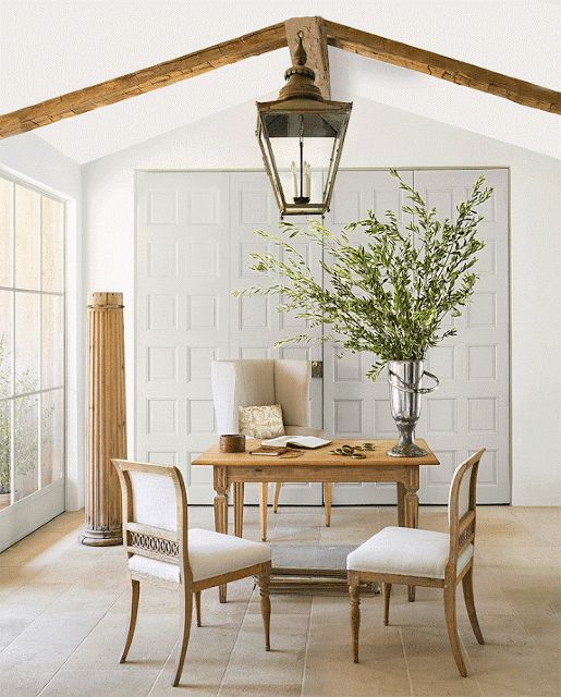 chic home offices brooke giannetti french inspired gorgeous lantern