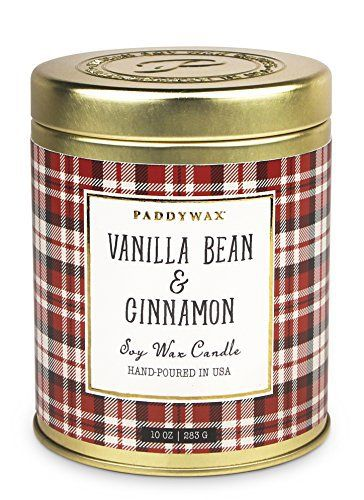 best fall candles paddywax vanilla bean & cinnamon delicious smelling