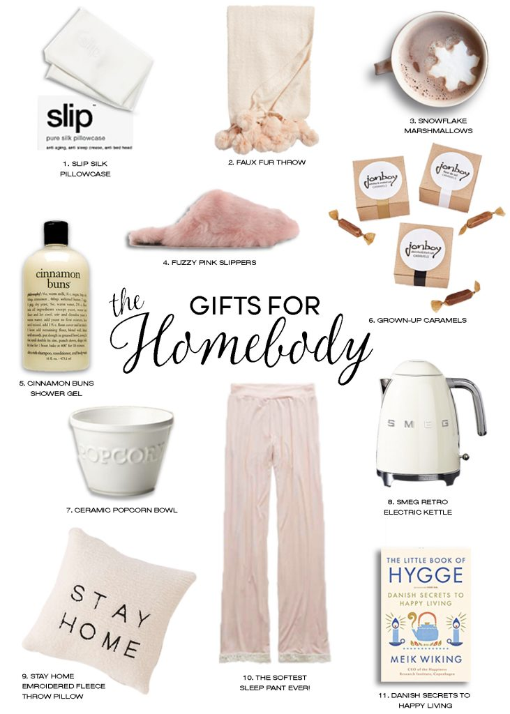 holiday gift guide part two gifts for homebody cozy at home