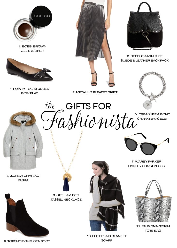 holiday gift guide fashion lovers fashionista clothing gifts for christmas