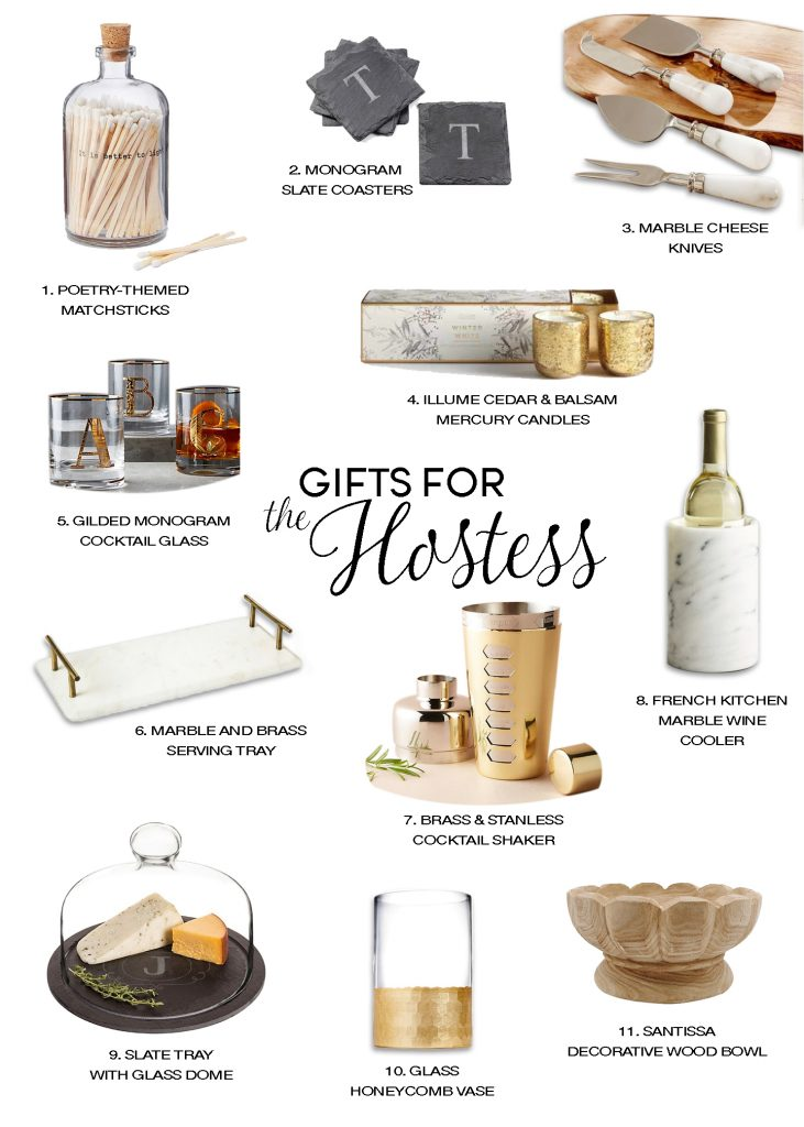 holiday gift guide hostess gifts