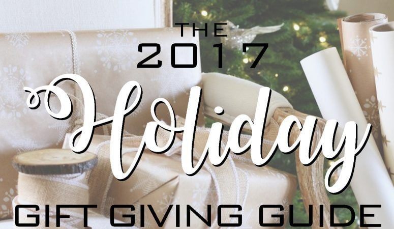Maison de Cinq's 2017 Holiday Gift Guide – by Category!