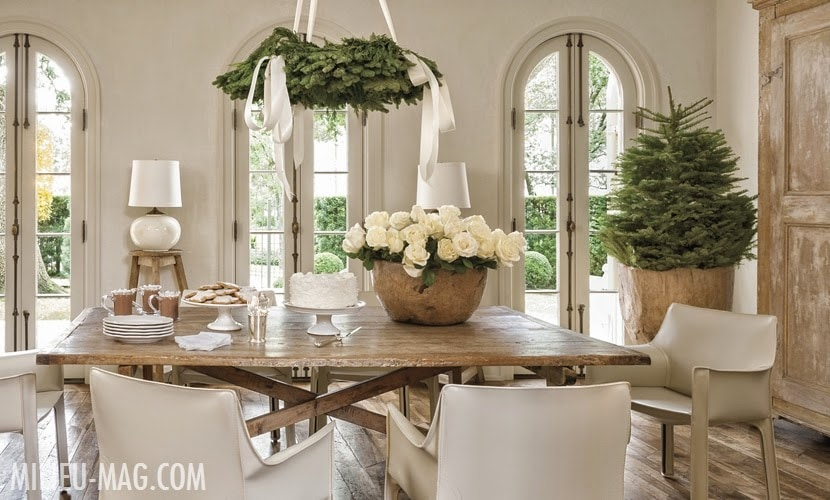 neutral christmas decor dining room stunning greens tree