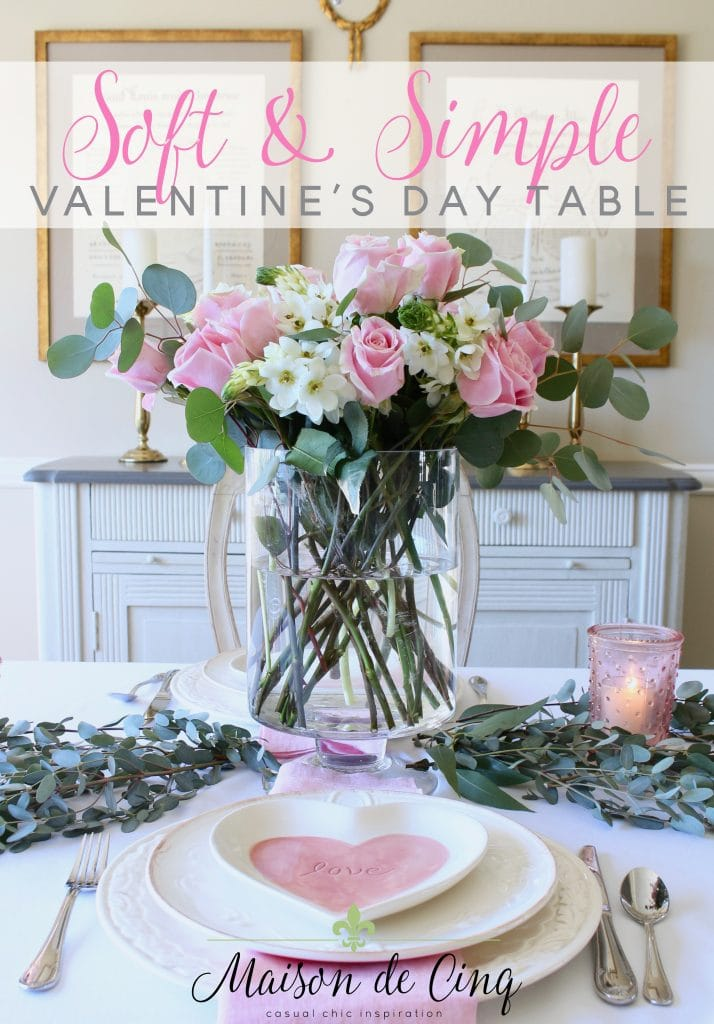 simple valentines day table pretty in pink florals gorgeous decor