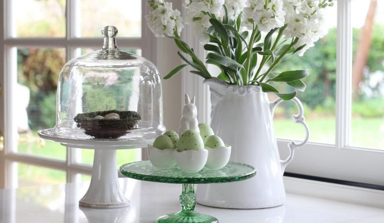 Light and Bright Easter Decor Ideas