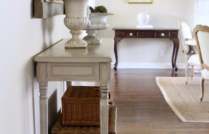 French Country Fridays: Vintage Baskets, French Kitchens & Ironstone