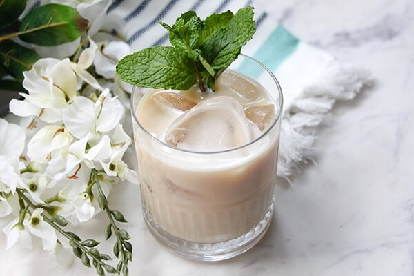 Mint Irish Coffee Recipe http://mysoulfulhome.com