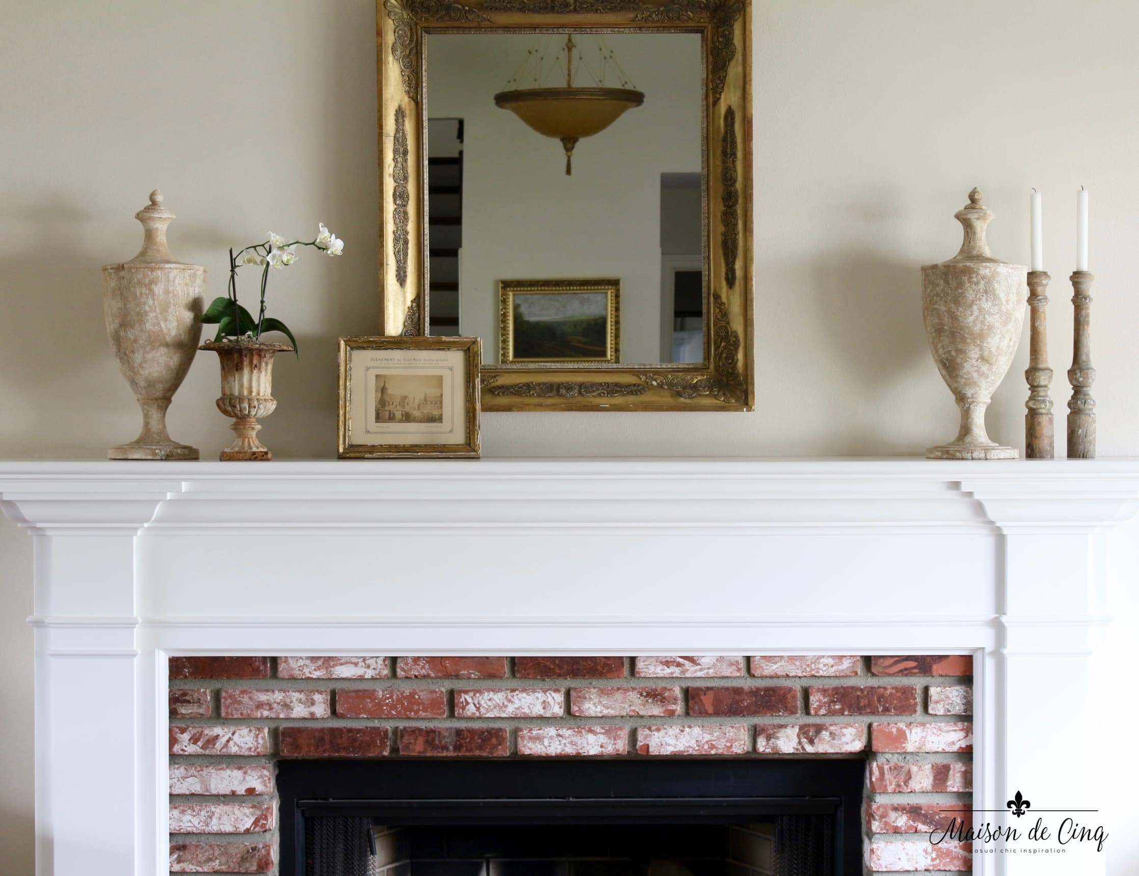 Mantel Decorating: Three Ways to Decorate a Spring Mantel