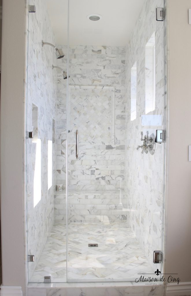 master bathroom remodel stunning shower marble tile