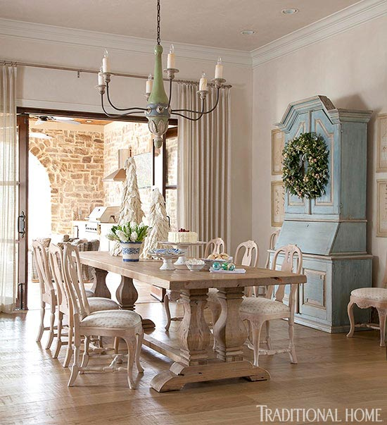 restoration hardware table gustavian french style dining room stunning chandelier armoire