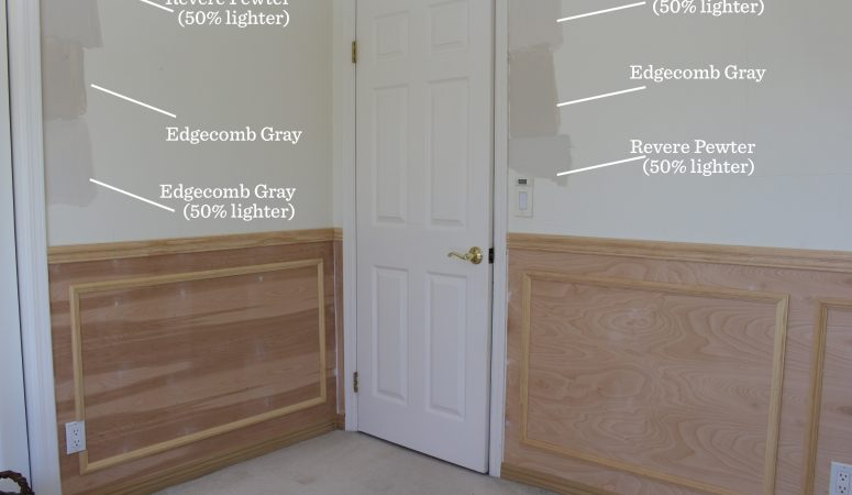 One Room Challenge Week 3 – Wainscoting is in!
