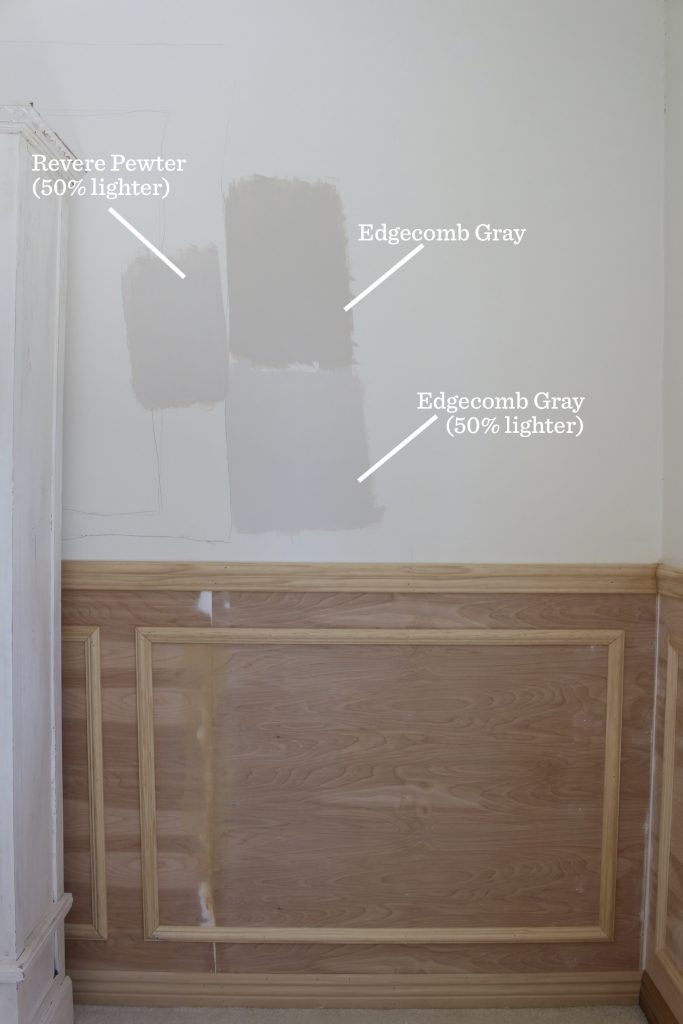 wainscoting paint color choices home office remodel 1