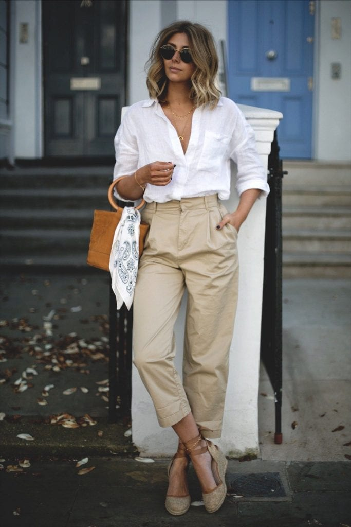 french style espadrilles summer casual fashion