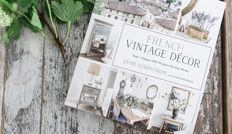 An Amazing French Vintage Decor Book!